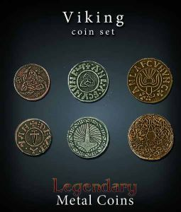Legendary Metal Coins : Viking Coin Set
